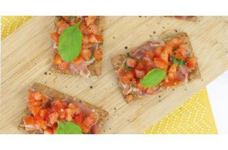 Bruschetta Crackers