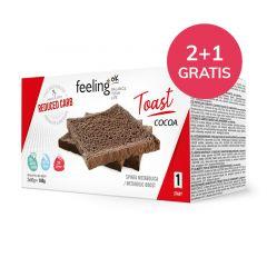 Proteïne Toast Cacao | Feeling OK Start | Protiplan