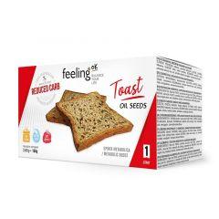 Eiwitrijke Toast Oliezaden | Feeling OK Start | Protiplan