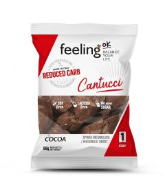 Feeling OK | Cantucci Cacao | koolhydraatarm
