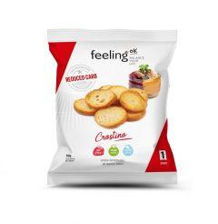 Eiwitrijke Toastjes Olijfolie | Feeling OK Crostino | Eiwitrijk Dieet | Protiplan