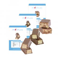 Mix Koolhydraatarme Reep Chunky Chocolade | Voordeelpakket | Protiplan.nl