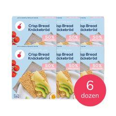 Protiplan | Crispbread Knäckebröd | Atkins Recept | Eiwitrijke Cracker