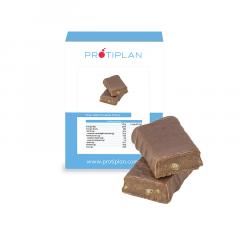 Reep melkchocolade praline | Koolhydraatarme reep | Protiplan