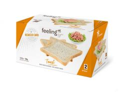 Eiwitrijke Toast Naturel | Feeling OK Optimize | EiwitDieet | Protiplan