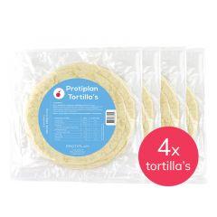 Protiplan Wraps | Tortilla van Protiplan | Voordeelpakket