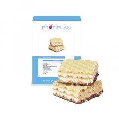 Proteine Wafel Vanille | Proteine Snack | Protiplan