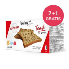 Low Carb Toast Oliezaden | Feeling OK Start | Protiplan