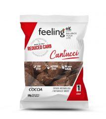 Cantucci Cacao | Feeling OK | Koolhydraatarme Koeken | Protiplan.nl
