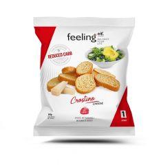 Eiwitrijke Toastjes kaas | Feeling OK Crostino | Eiwitrijk Dieet | Protiplan