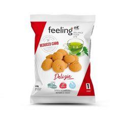Feeling OK | Delizia Vanille Citroen mini koekjes | koolhydraatarm | Protiplan