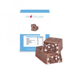 Reep Hazelnoot Chocolade Crunch | Protiplan Eiwitdieet
