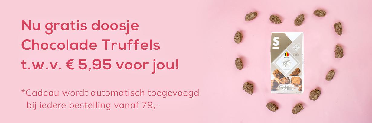 Gratis Suikervrije Chocolade Truffels