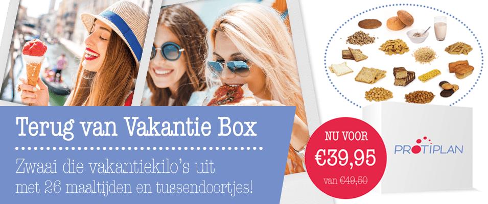 Protiplan - Terug van Vakantie Afslank Box