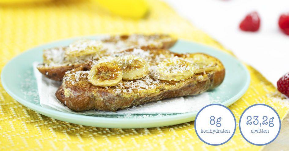 Croissant met Gebakken Banaan | Protiplan