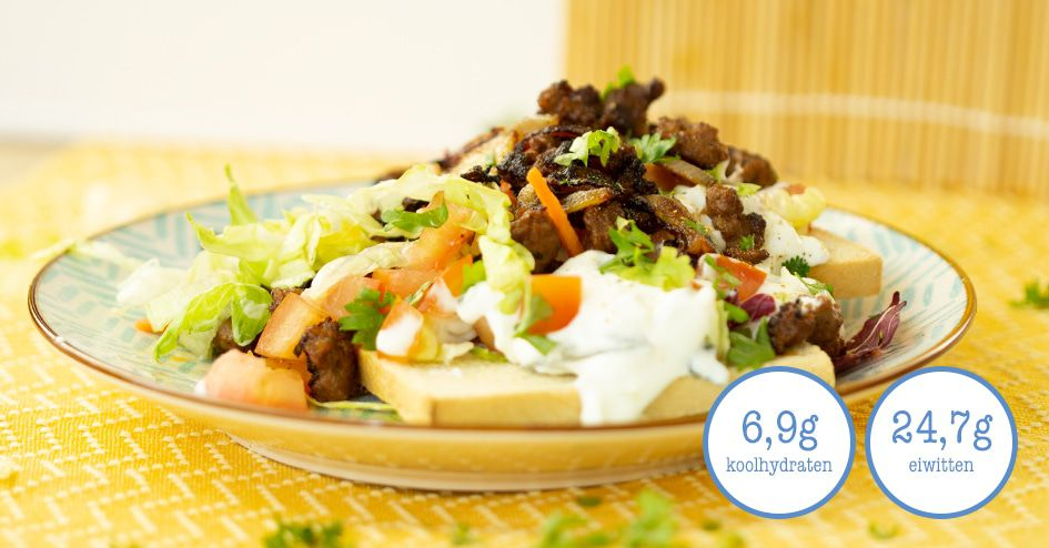 Griekse Pita met Toast | Protiplan