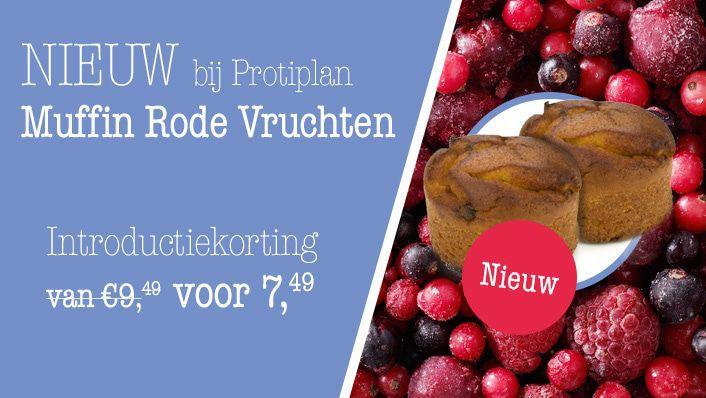 NIEUW | Muffin Rode Vruchten