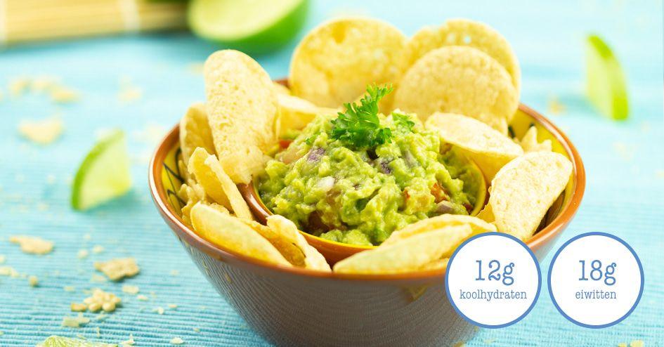 Chips met Guacamole