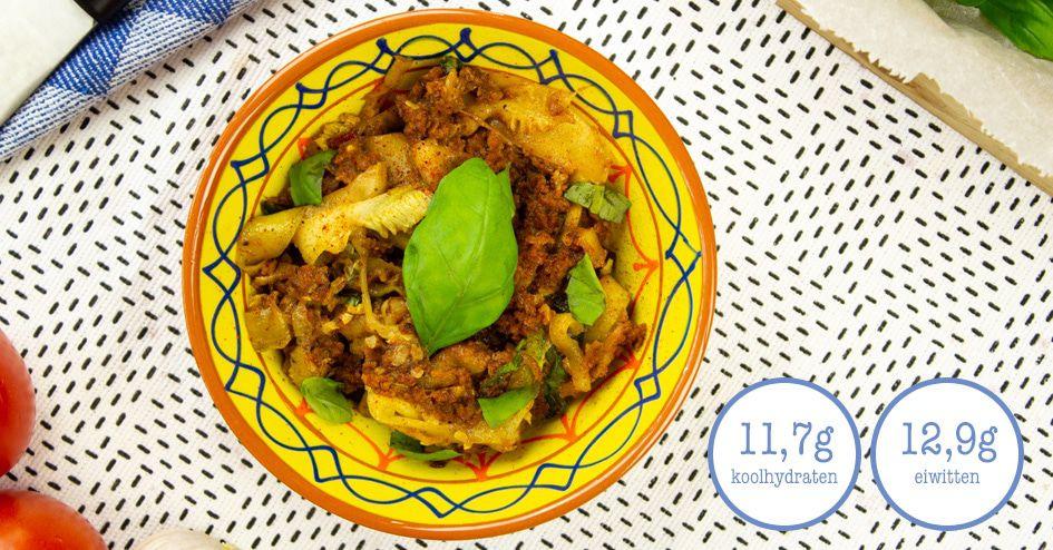 Courgetti met chili | Protiplan