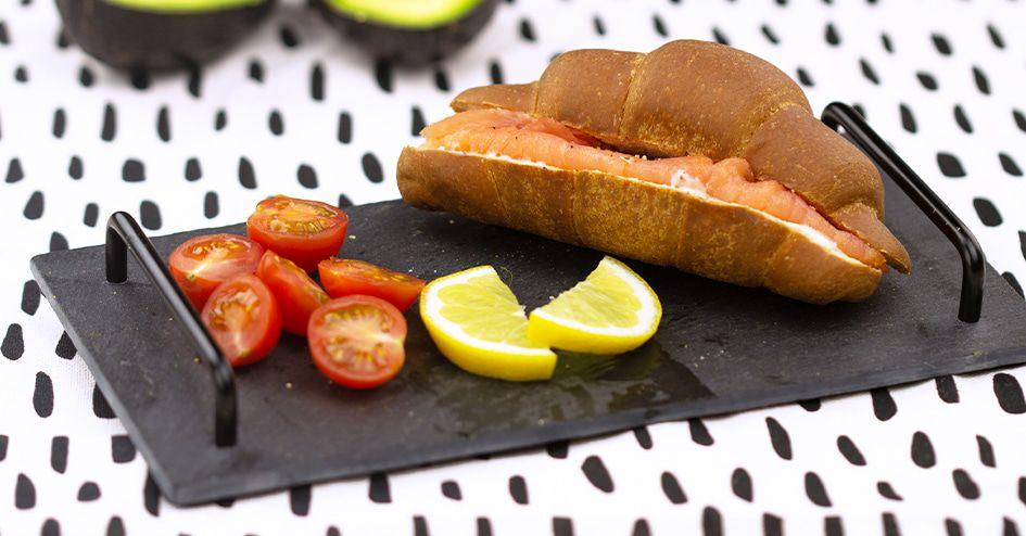 Croissant Zalmfilet   Protiplan