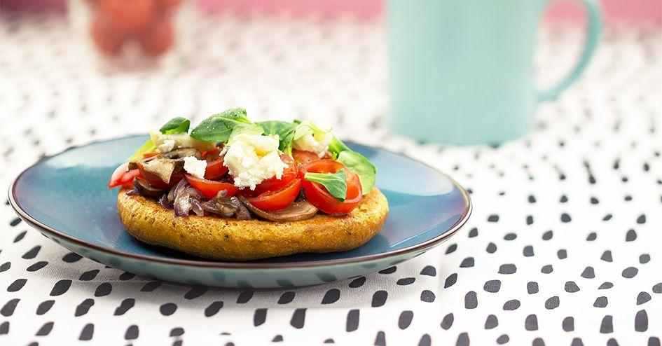 Pizzabroodje met geitenkaas  | Protiplan