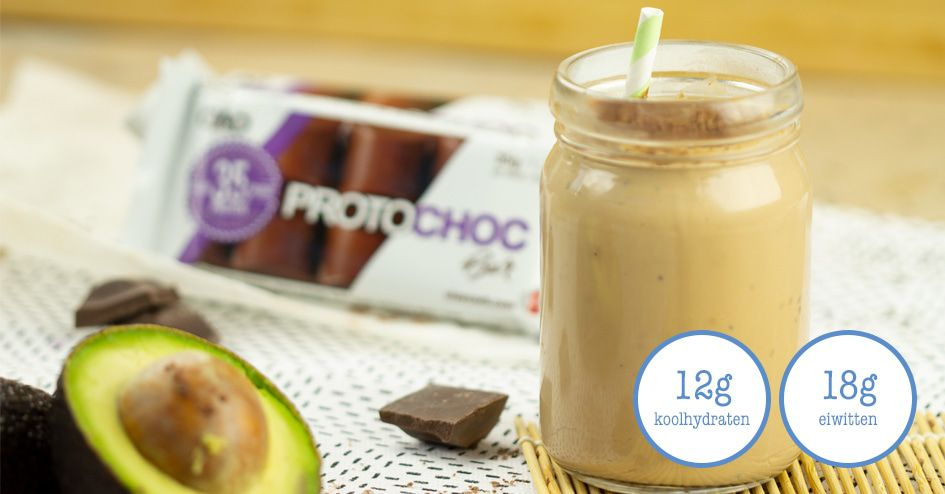 Chocolade Avocado Smoothie | Protiplan